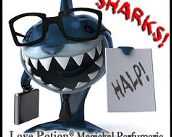 Swimming with Sharks - UNscented Pheromone Blend - Work Blend for Men and Women - Love Potion Magickal Perfumerie