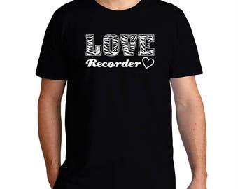Love Recorder T-Shirt