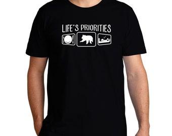 Life'S Priorities Koala T-Shirt