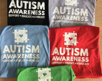 New inventory! Autism Awareness T-shirt! soft, awesome, affordable