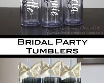 Bridesmaid Proposal, Bridesmaid Tumblers, Ask Your Bridesmaid, Ask Bridesmaid, Bridesmaid Set of, Set of Bridesmaid, Bridesmaid Kit