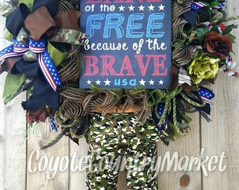 Military Wreath-Soldier Wreath-Veteran's Wreath-Military Mesh Wreath-US Army Wreath-US Navy Wreath-Air Force Wreath-US Marine's Wreath