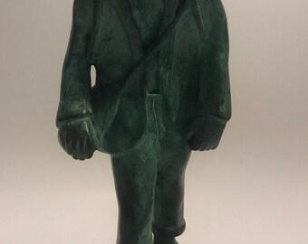 Old man statue Beria made in Brazil