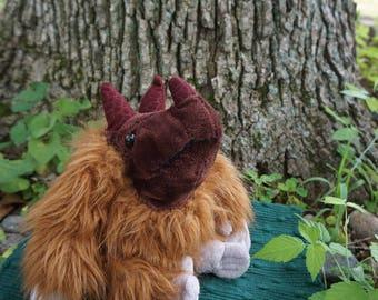 Woggs. FrankenFuzzie, Soft sculpture, Stuffed Animal, Toy