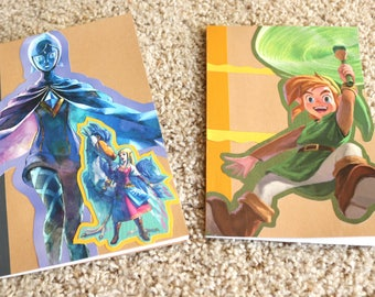 Legend of Zelda A5 Notebooks