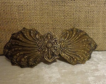 Vintage Handmade Victorian Belt Buckle