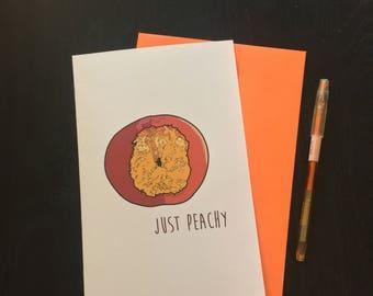 sarcastic sympathy  card- envelope included