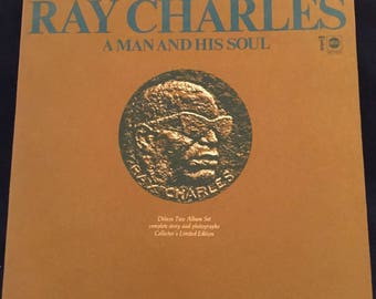 RAY CHARLES A Man And His Soul album 1967 ABC
