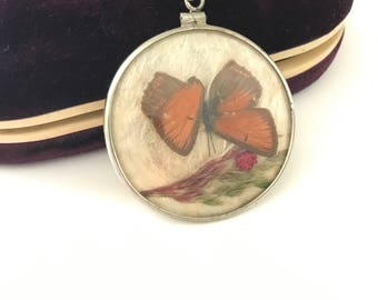 Antique Victorian Butterfly Locket
