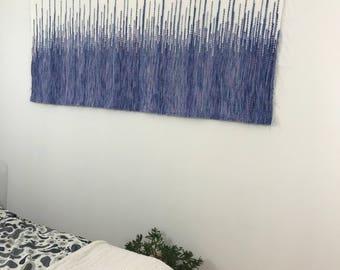 woven wall hangings, wall tapestry, macrame wall hanging, wandkleed, boho headboard, wedding backdrop, textile headboard, mid century modern