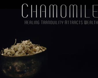 Organic Chamomile 1 Oz | Dried Chamomile Flowers | Dried Herbs