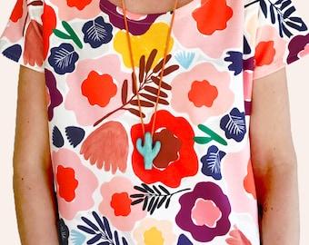 Olive's Garden 100% Organic Cotton Jersey Ladies T
