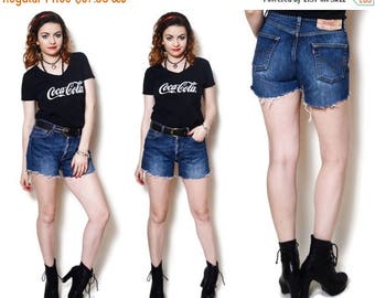 25%OFF 501 levis shorts cut off levis high waisted shorts cut offs ripped jeans distressed jeans denim jean shorts high rises