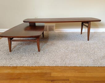 Mid century modern coffee table lane Etsy