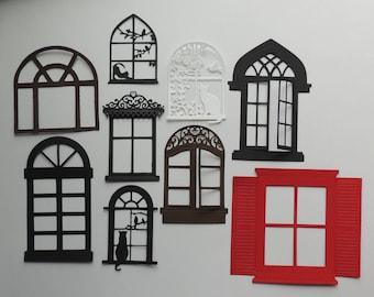 Window Die Cuts, Choose the Window You Like