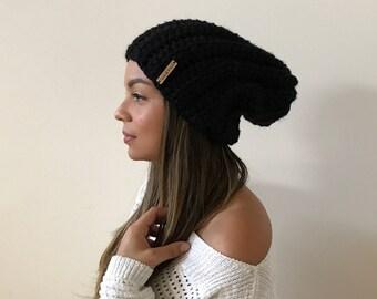 Crochet Adult Slouchy Beanie