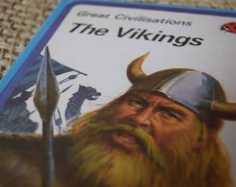 The Vikings. Great Civilisations. A Vintage Ladybird Book. Series 561. 1981