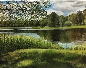 Church Pond 2016 - Original