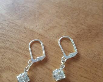 Beautiful Zironia Pierced Earrings