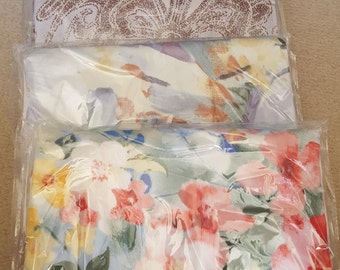 100 % Organic Bamboo European Pillowcase Set Handmade - 2 European Pillowcases