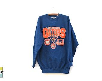 90s Vintage Florida Gators Crew Neck Sweatshirt
