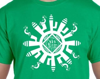 NA - MAYAN STYLE - T-shirt - Color Options - S-3X - 100% cotton - Free Shipping - Narcotics Anonymous