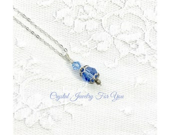 Bridesmaid Pendant, Bridesmaid Gift, Birthstone Necklace, Bridal Party Gift