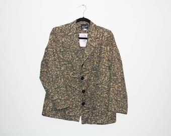 VINTAGE/RETRO Brown Jacket