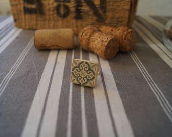 Scrabble tile cement ring