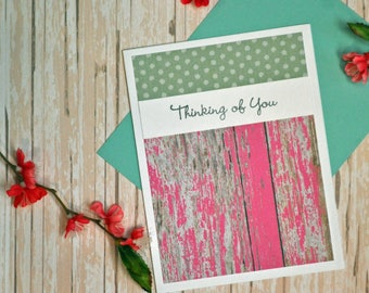 Country Thinking of You Greeting Card
