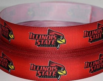 "Illinois State Dog Collar - Side Release Buckle (1"" Width) Martingale Option Available"
