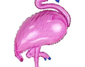 "40"" Flamingo  Balloon | Jumbo Flamingo Balloon | Flamingo Mylar Balloon | Large Flamingo Balloon"