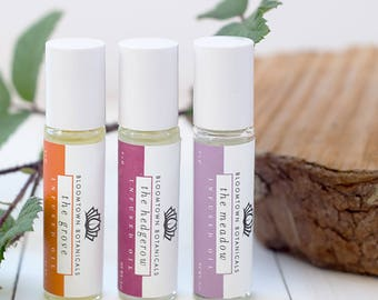 Roll On Perfume Oil - Vegan Perfume Oil - Cruelty Free Perfume -  Ethical Beauty - Aromatherapy Pulse Point Roller Ball - Bloomtown
