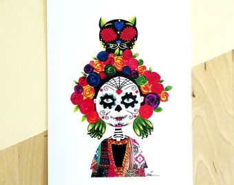 Catrina Illustration