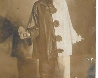 Halloween Costume Girl - 1910s - Antique Photo