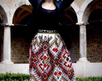 Geometrika skirt / / Folk / Etno / Slavic