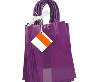 45 purple gift/party bags