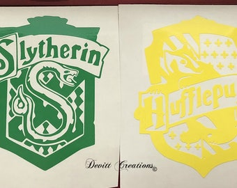 Harry Potter House Decals