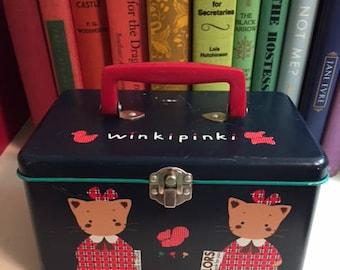 Winkipinki Sanrio Lunch or Pencil Tin