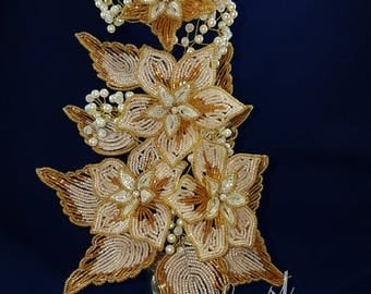 Beaded Decor Bouquet Flowers