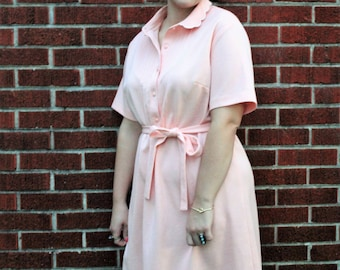 Vintage Light Pink Dress