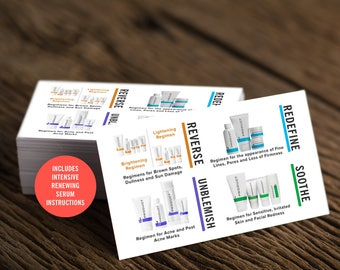 Rodan and Fields Business Card, R and F Cards, RF, Rodan Business Card, Unmeasured, Marketing, Branding, Printable, Digital