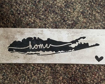 Long Island Home Sign