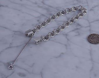 """A Very nice Sterling Silver Bracelet (7.5"""")"""
