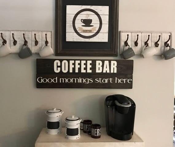Kitchen Coffee Signs: Kitchen Decor Coffee Sign Kitchen Wood Sign Farmhouse