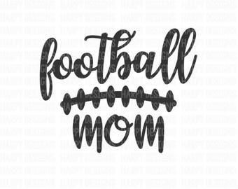 Football Mom SVG, Football Mom, Football Mama SVG, Cricut Cut Files, Silhouette Cut Files