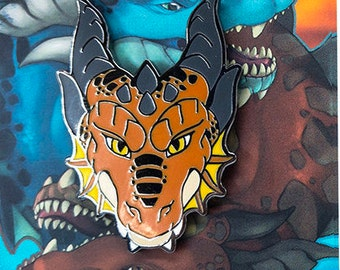 Fire Dragon Hard Enamel Pin