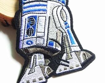 Star Wars Robot R2D2  Applique   AM1