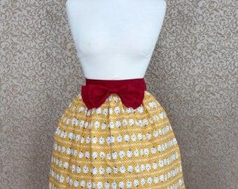 Spooky Ghost Cotton Lolita Skirt