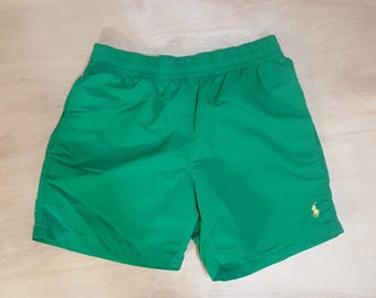Green Polo Trunks - Small